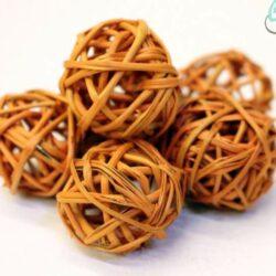 rattan-golyo-narancssarga-hobbykreativ
