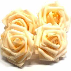 Polifoam rózsák 6-8 cm