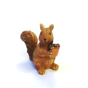 Kerámia figura mókus mini