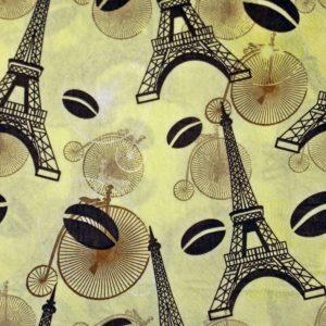 dekorszalvéta-párizs és kávé-4db