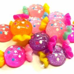 glitteres-dekor-cukorka