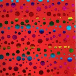 dekorgumi-piros-csillogos