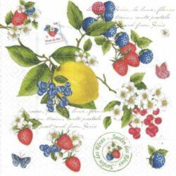 Gyümölcsös szalvéták
