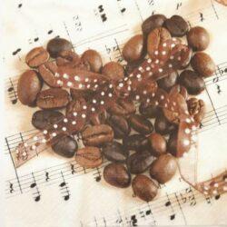 Kávés és teás szalvéták