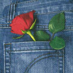 Rózsás szalvéták