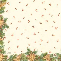 dekorszalveta-Christmas-girland-cream-hobbykreativ