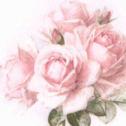 dekorszalveta-pink-rose-hobbykreativ