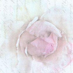 dekorszalveta-pink-rose-letter-hobbykreativ