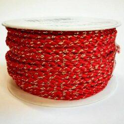 diszzsinor-sodort-fenyes-piros-arany-szallal-hobbykreativ