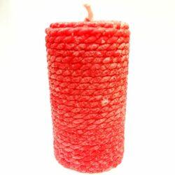 gyertya-henger-mintas-piros-hobbykreativ