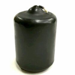 matt-henger-fekete-gyertya-csucsos-hobbykreativ
