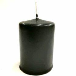 matt-henger-fekete-gyertya-hobbykreativ