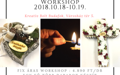 Mindenszentek workshop 2018.10.18 – 19.