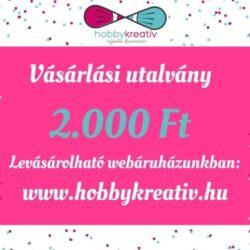 vasarlasi-utalvany-2000-hobbykreativ
