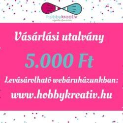 vasarlasi-utalvany-5000-hobbykreativ