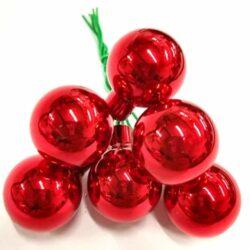 diszitoelem-piros-fenyes-gomb-6db-hobbykreativ