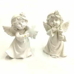 keramia-angyalka-par-csillagos-fejdisz-hobbykreativ