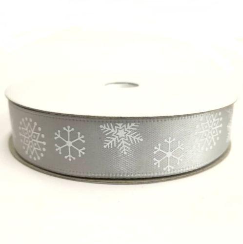 Karácsonyi szatén szalag arany hópelyhes 15 mm - Create hobbyáruház ... 8320cd70cf