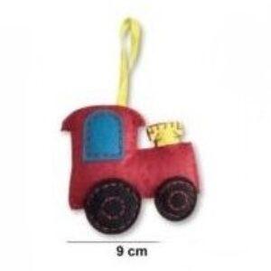 Filcfigura varró készlet gyerekeknek traktor
