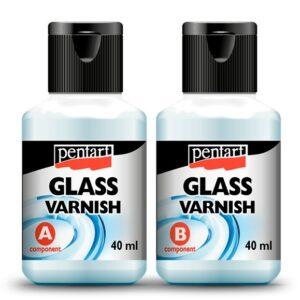 Pentart üveglakk 2 x 40 ml
