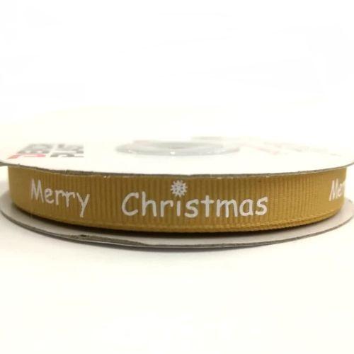 Ripsz szalag Merry Christmas arany 10 mm - Create hobbyáruház ad22759c80