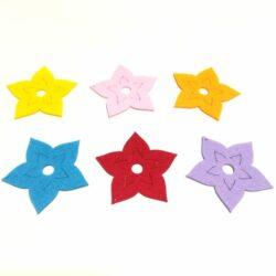 filc-csillagvirag-szines-6db-hobbykreativ