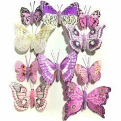 pillango-szett-10db-lila-hobbykreativ