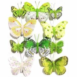 pillango-szett-10db-zold-hobbykreativ