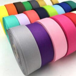 Ripsz szalagok egyszínű és mintás