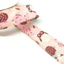 drotos-textil-szalag-bagoly-rozsaszin-hobbykreativ