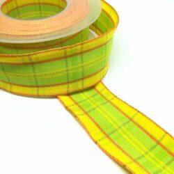drotos-textil-szalag-kockas-sarga-lime-hobbykreativ