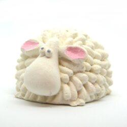 keramia-figura-baranyka-feher-hobbykreativ