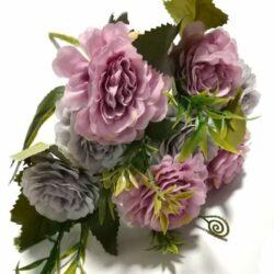 selyem-rozsa-csokor-5szalas-pasztell-lila-malyva-hobbykreativ