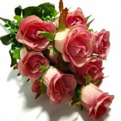 selyem-rozsa-csokor-keskenyfeju-12szalas-malyva-hobbykreativ