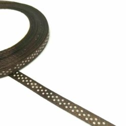 szaten-szalag-pottyos-sotetbarna-6mm-hobbykreativ