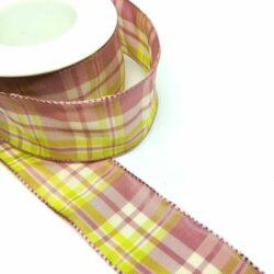 textil-szalag-kockas-malyva-pasztell-zold-hobbykreativ