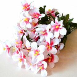 selyem-csokor-otszirmu-feher-pink-hobbykreativ