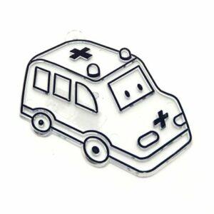Fényvarázs forma mentőautó