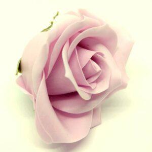 Illatos rózsa pasztell mályvás rózsaszín 40 mm