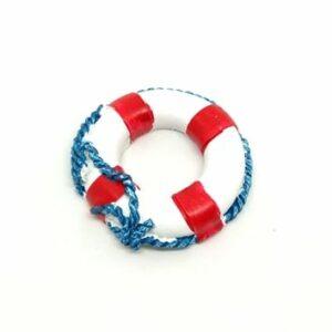 Kerámia mentőöv piros csíkos 5 cm 1 db