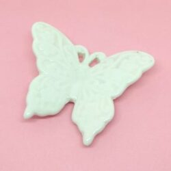 keramia-pillango-feher-hobbykreativ