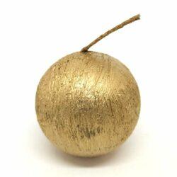 gomb-gyertya-rusztikus-arany-hobbykreativ