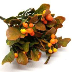 muanyag-nagy-bogyos-csokor-narancssarga-hobbykreativ
