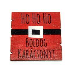 Boldog-karacsonyt-festett-fatabla-piros-hohoho-hobbykreativ