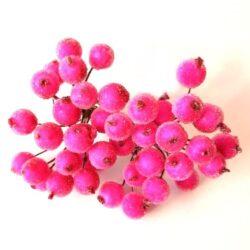 glitteres-betuzo-bogyok-drotszaron-pink-1-hobbykreativ
