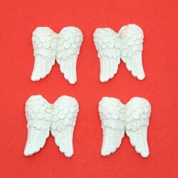 keramia-angyalszarny-csillamos-feher-4db-hobbykreativ