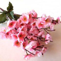selyem-cseresznyevirag-csokor-rozsaszin-hobbykreativ