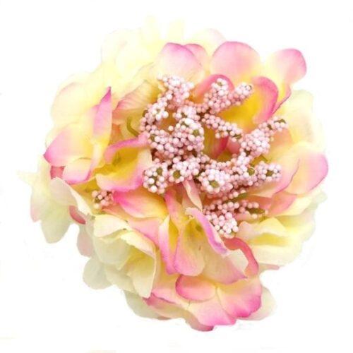 selyem-hortenzia-fej-bogyoval-vanilia-rozsaszin-hobbykreativ