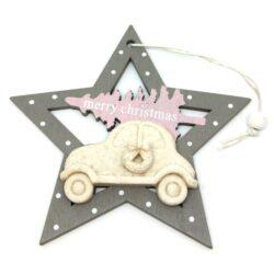 felakaszthato-fa-csillag-disz-autoval-szurke-rozsaszin-hobbykreativ