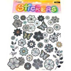 matrica-viragos-es-pillangos-fekete-motivumokkal-hobbykreativ